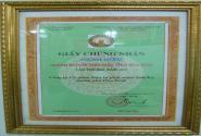 Giấy chứng nhận doanh nghiệp tiêu biểu tỉnh Hòa Bình năm 2013